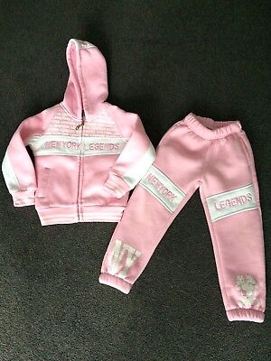 Girls Tracksuit Age 4-5 Years
