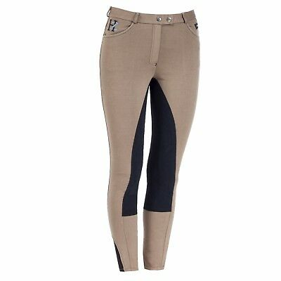 Horze Jennie Full Seat Breeches -Bronze /black - Uk Size 10 - 12 / 38 - Sale - 6