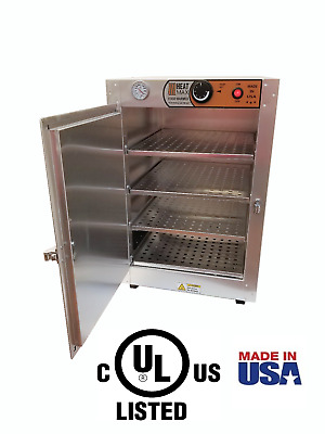 HeatMax 16x16x24  Humidified Food Warmer Hot Box  Pizza Pastry Patty Heated Case