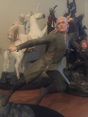 Weta Legolas Lord of the Rings Hobbit Statue 0293/1500 Mint condition!