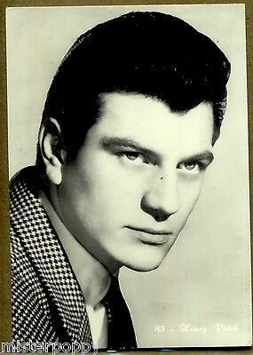 HENRY VIDAL Attore Cinema Teatro PC Film Star Circa 1950s