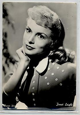 JANET LEIGH Cinema Star Circa 1960 ITALY Real Photo PC Vera foto Attrice