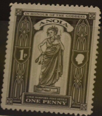 Discworld stamps - 2006 Anoia one penny