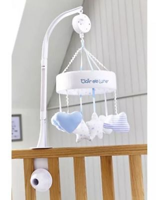 Clair de Lune Little Dreams Cot Musical Mobile in BLUE - New & Boxed