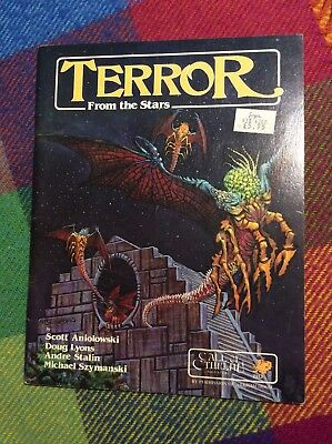 Terror from the Stars, Call of Cthulhu adventure, by Chaosium
