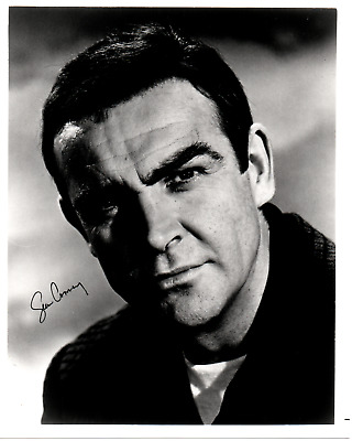 SEAN CONNERY autograph 8x10 signed photo COA