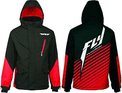 Fly Racing Factory End of Season Jacket - Mens Hooded Coat MX Insulated Closeout