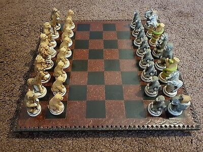 Cambor Games Animal Kingdom Chess Set. READ LISTING CAREFULLY !!