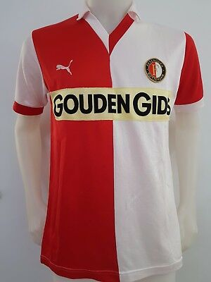 Maillot T-Shirt Football Feyenoord Rotterdam Gouden Id De Groupe Puma Taille L