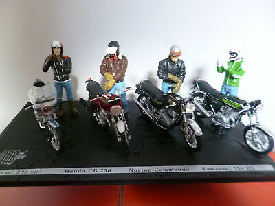 joe bar team ducati + honda kawasaki norton    solido 1/ 18