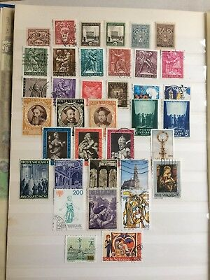 Vatican City stamp collection