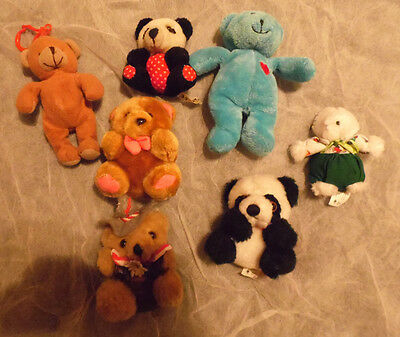 Lot Petites Peluches Oursons