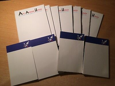 Lot + 10 Bloc Notes - Prise Point - Post It - Carte - Belote - Manille - Tarot