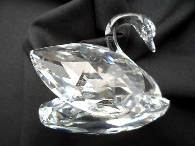 Beautiful Swarovski Crystal Swan. Perfect Condition Guaranteed
