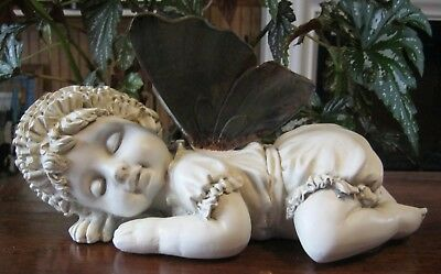 New Baby Fairy Sleeping Figurine. Indoor or Outdoor.