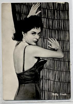 MILLY VITALE Cinema Star 1960 ITALY Real Photo PC Vera foto Attrice
