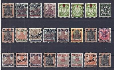 germany stamps with overprints good condition