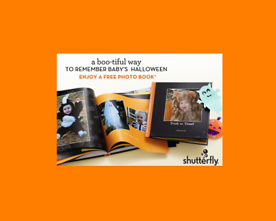 Shutterfly 8x8 Hard Cover Photo Book or save on larger Code Exp August 31, 2018