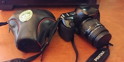 PENTAX CAMERA Z-70 and KONICA TC-X with carrying case