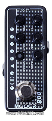 Mooer Micro Preamp Cali Mk3 008 New Auth Dealer Free Shipping!!