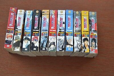Bleach Books volume 1-33 in Eleven 3 in 1 editions. Fantastic Condition