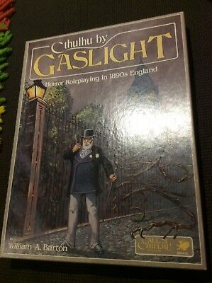 Cthuluhu by Gaslight, Horror Roleplaying in 1890's England, by W. A. Barton