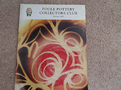 Poole Pottery Collectors Club Magazine SUMMER 2000