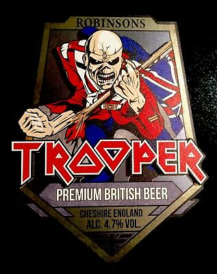 Robinsons (Iron Maiden) Trooper Pump Clip. New.