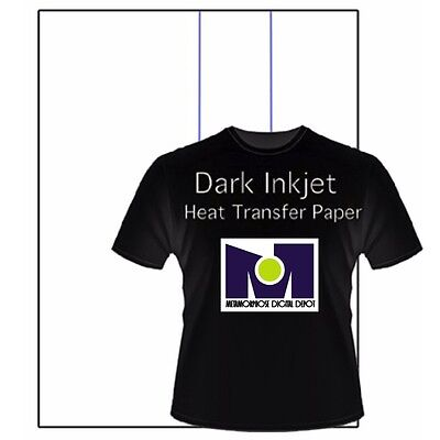 heat transfer paper inkjet printer dark t shirt iron on heat
