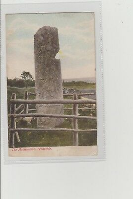 Bennachie The Maidenstone P/M Oyne 1906 A Christie Post Office Oyne Publisher