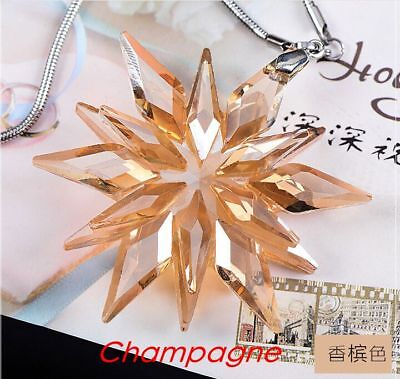 2017 Annual Edition Large Christmas Ornament New snowflake Crystal
