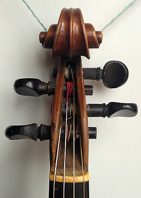 Old Violin CHARLES THOUVENEL, about 1790 SOUND SAMPLE YOUTUBE! violino antico