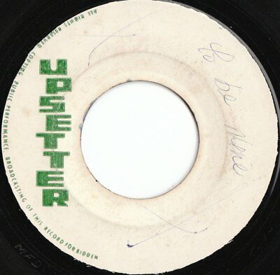 """ROOTS 45 UPSETTER LABEL THE RIGHTEOUS FLAMES """" GOT TO BE NICE """" rare lee perry♫"""