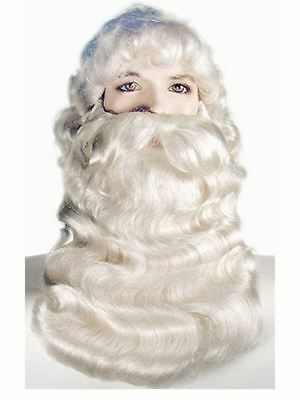 Professional Quality Super Deluxe Santa Wig and Beard Set