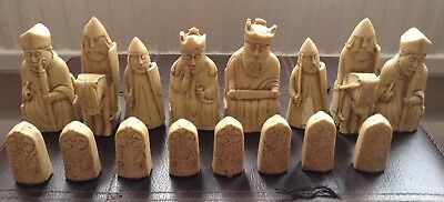 Isle of Lewis style Chess Set chessmen game pieces