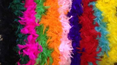 60 Gram Feather Boa, 10 Colours!