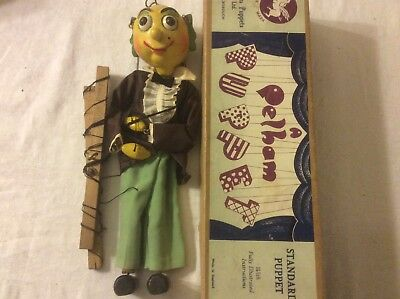 Early Pelham SL puppet Mr Turnip boxed