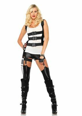 SWAT Body and Leg Harness with Phone Holder and Cord