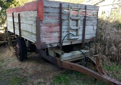 Tipping farm trailer - ideal horse muck/dung for  tractor