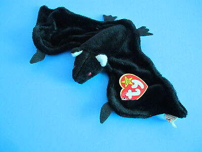 Ty Beanie Baby Radar - MWMT Bat 1995 RETIRED for Halloween