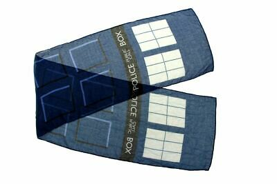 Lightweight Doctor Who Tardis Scarf