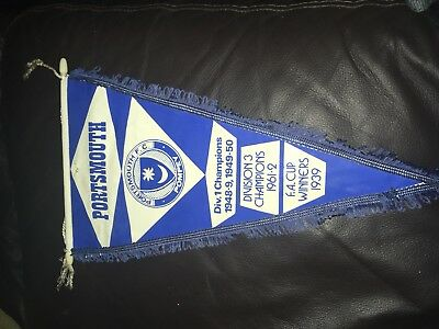 Portsmouth Pennant Pompey Late 1970s