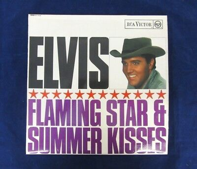 Elvis-Flaming Star & Summer Kisses 12 track mono LP, red spot RCA label RD-7723