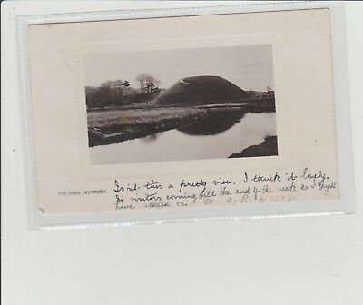 Inverurie The Bass Real Photograph Postcard P/M Inverurie 1908 Davidson Bros