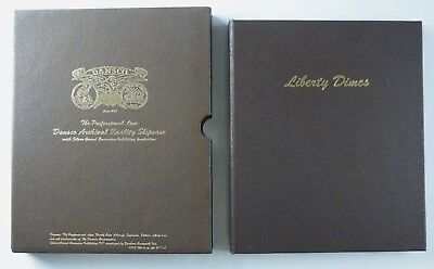 1892-1916 Dansco Liberty Dimes Album #7121 NO RESERVE 73 Coins Collection Barber