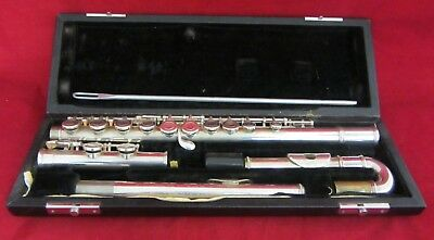 John Packer JP111CH flute in C with hard case with curved & straight head joint