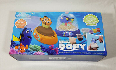 Disney Pixar Finding Dory Make Your Own Glitter Dome NEW