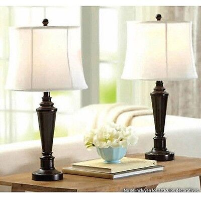 Table Lamp Set Of Traditional Vintage Desk Lamps Nightstand - Vintage table lamps for bedroom