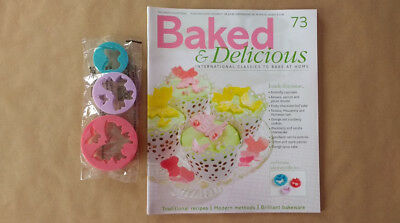 Baked & Delicious Magazine Issue 73 Butterfly Cutters Eaglemoss