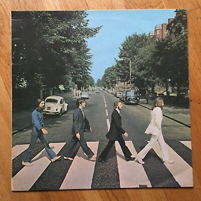 The Beatles - Abbey Road - Early Press Excellent Copy